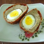 Iwashi scotch egg